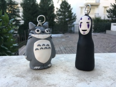 Totoro and No-face, 2019 (starchild's crafts)